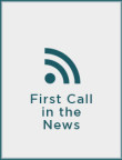 First Call in the News – June 2016