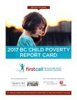 2017 BC Child Poverty Report Card